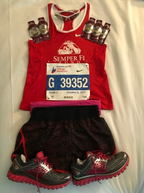 Flat Martha is ready to run the Chicago Marathon 2017.