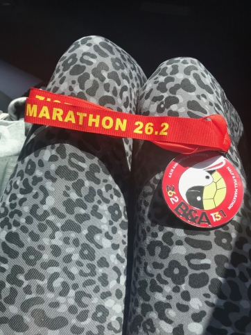 B&A Trail Marathon 2018 finisher medal
