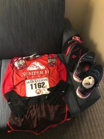 Flat Martha B&A Trail Marathon 2018